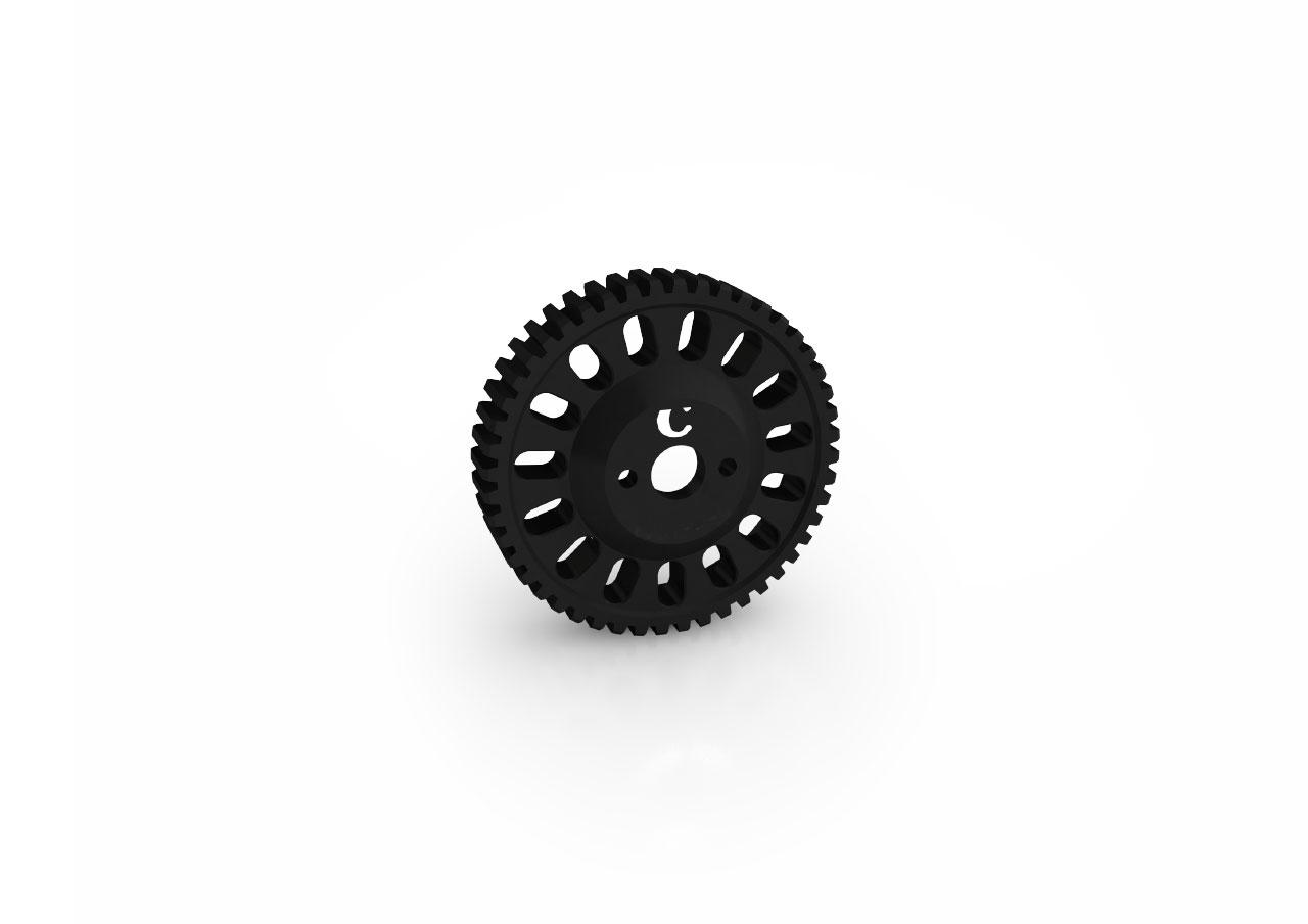 Gear Drive for Chrosziel Digital Motor CDM-100, mod0.6 Ø40mm