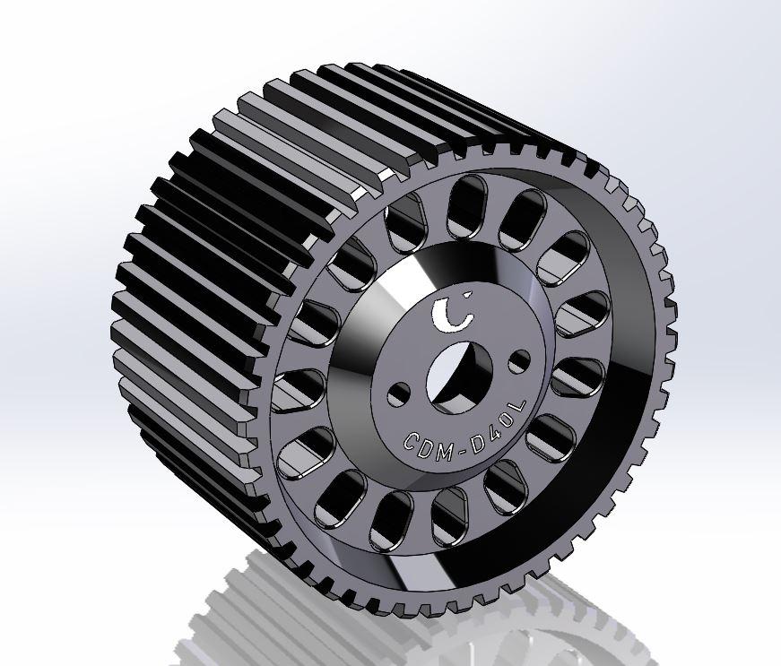 Gear Drive large for Chrosziel Motor CDM-100/S, mod.0.8 Ø40
