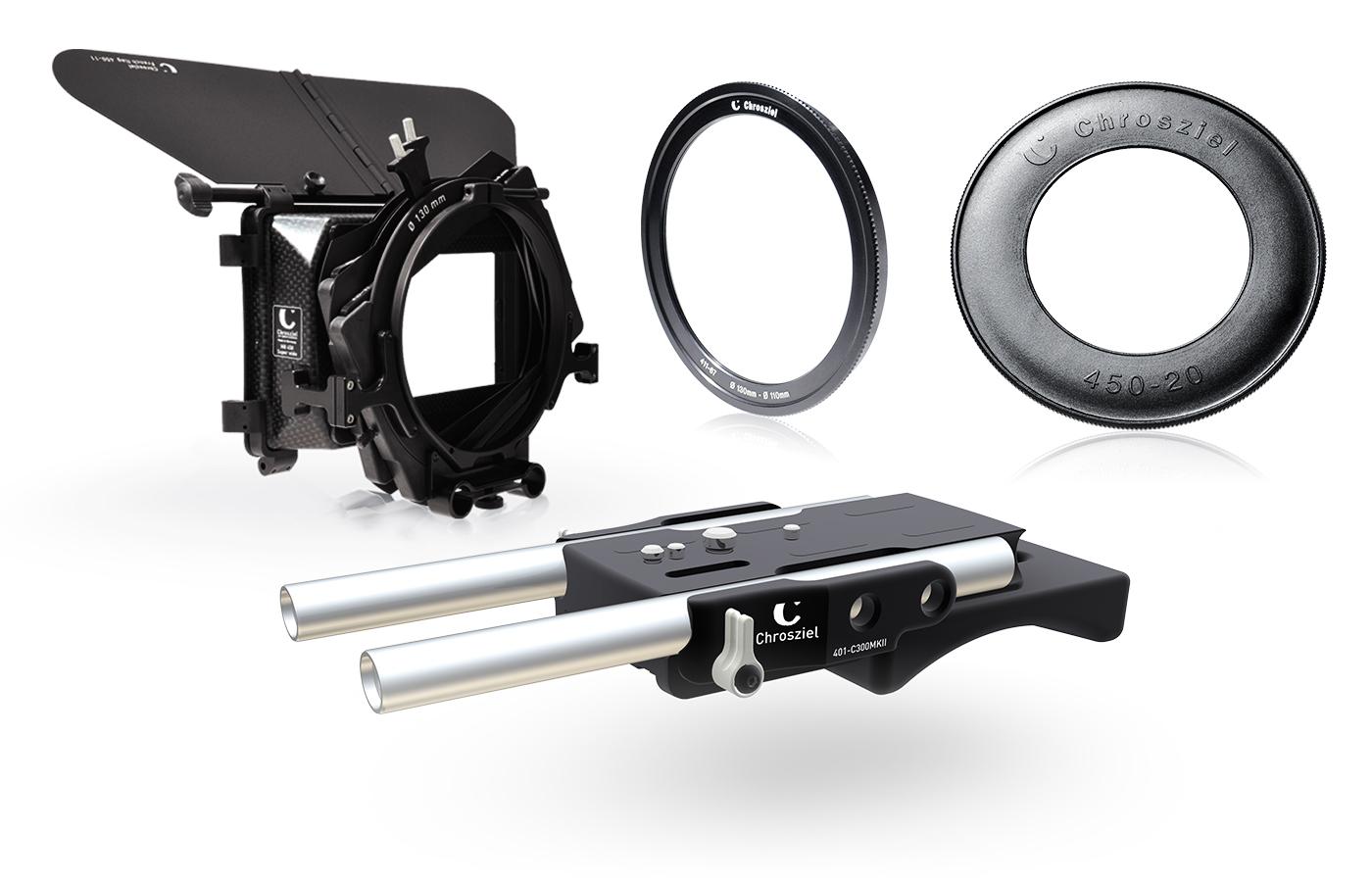 Mattebox Kit 450W-20 für Canon EOS C Serie