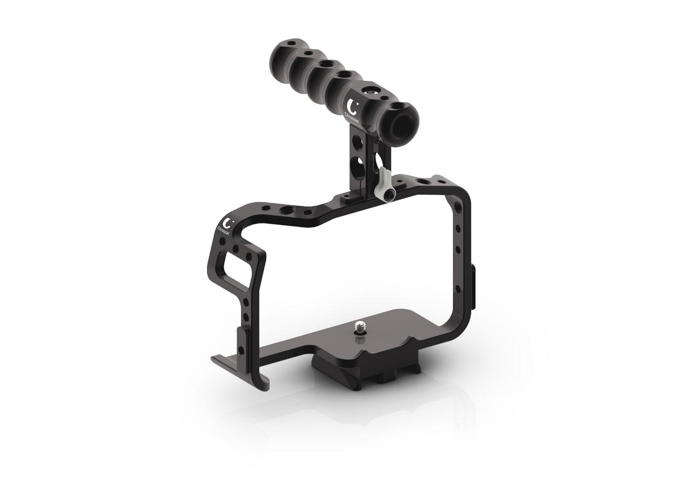 Chrosziel Kamera Cage mit Griff für Panasonic GH5
