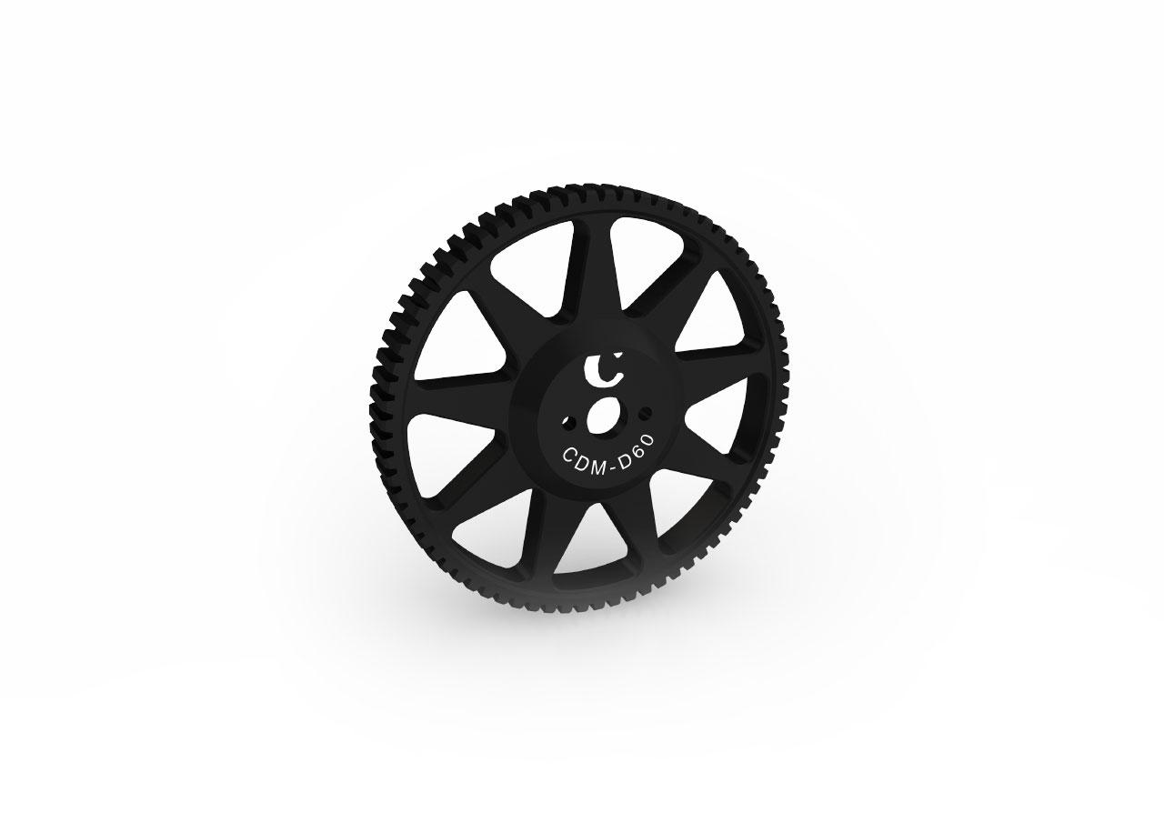 Gear Drive for Chrosziel Digital Motor CDM-100, mod. 0.8Ø 60