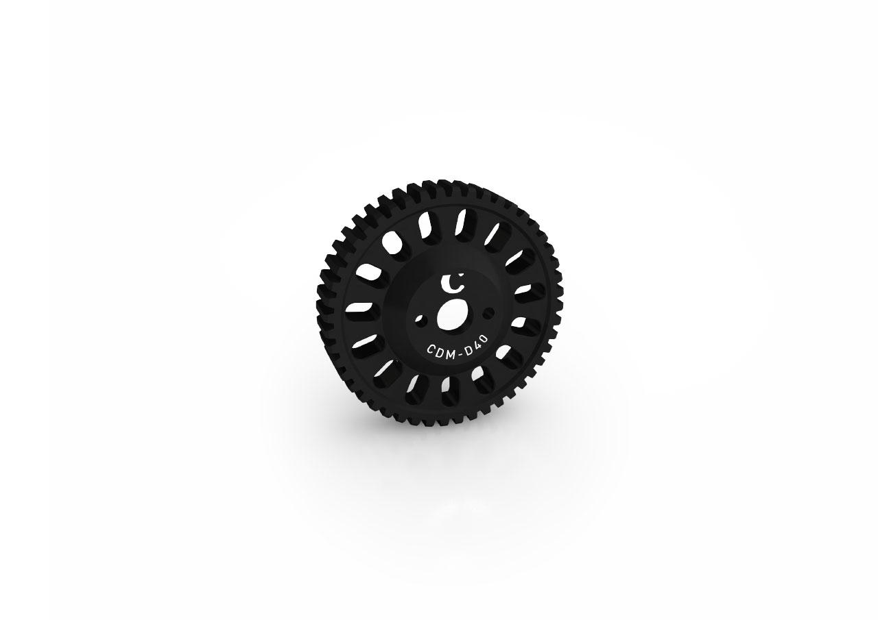 Gear Drive for Chrosziel Digital Motor CDM-100, mod.0.8 Ø40