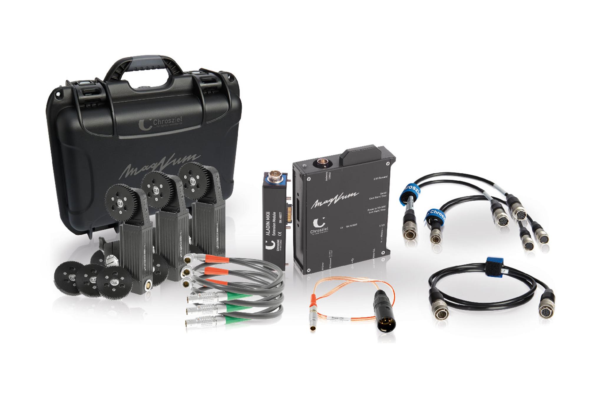 MagNum KIT Broadcast with Hedén motors