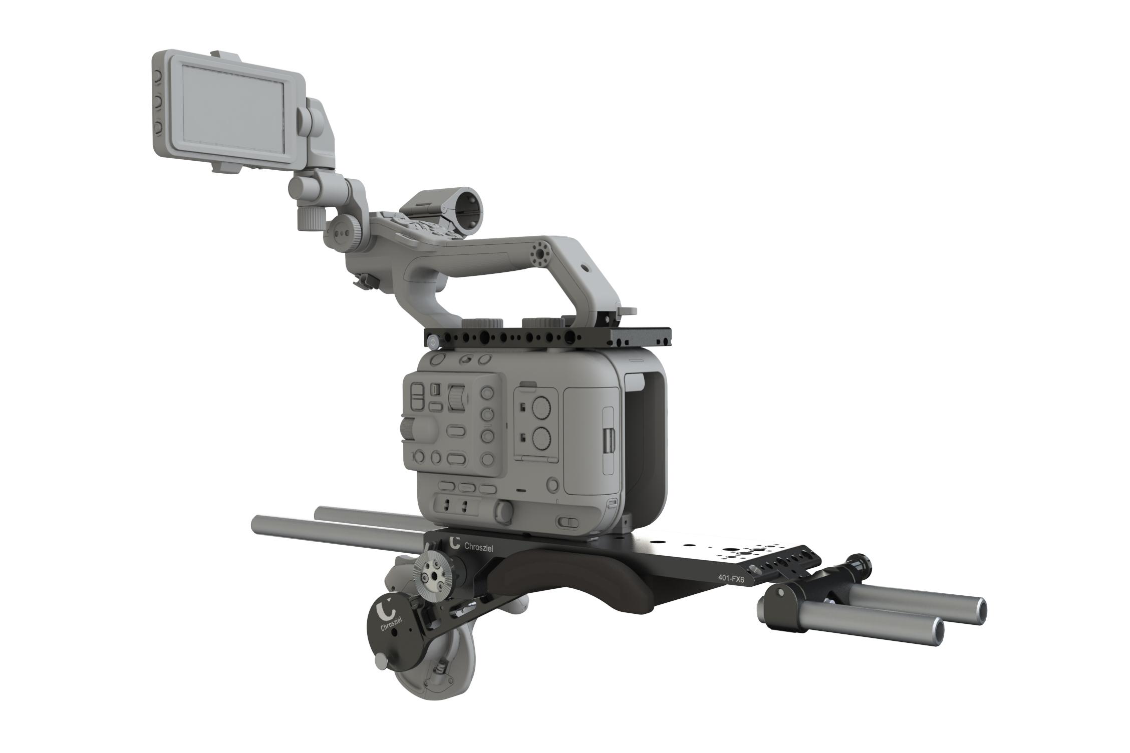 Kit LWS +Top Plate + Handgrip Extender for Sony PXW-FX6