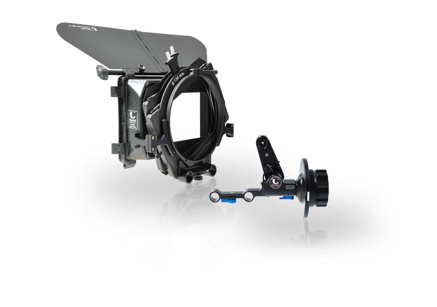 Mattebox Kit Sony FS7 with Light Weight Support+Follow Focus