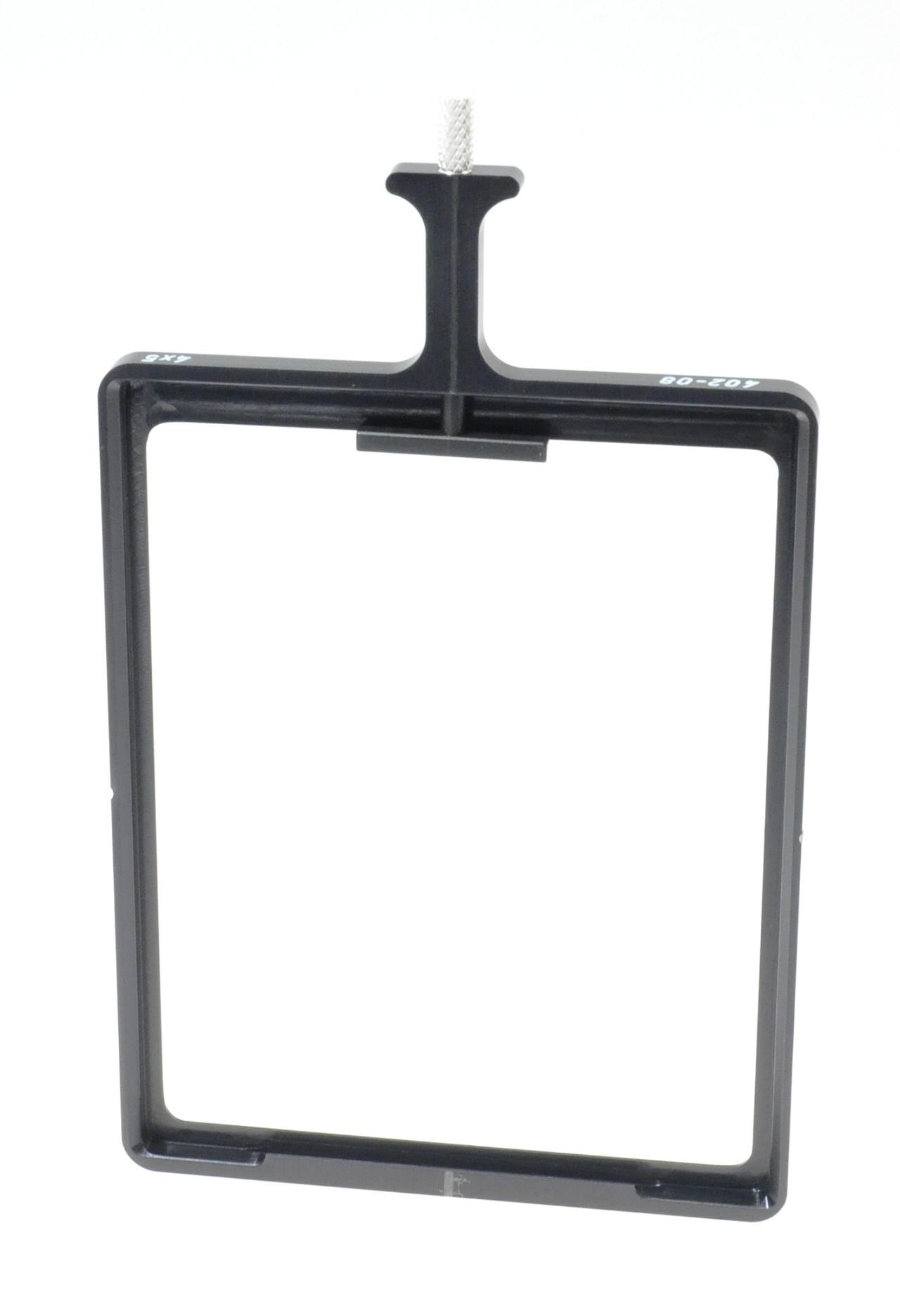 Filterhalter 4x5, 110mm breit, v