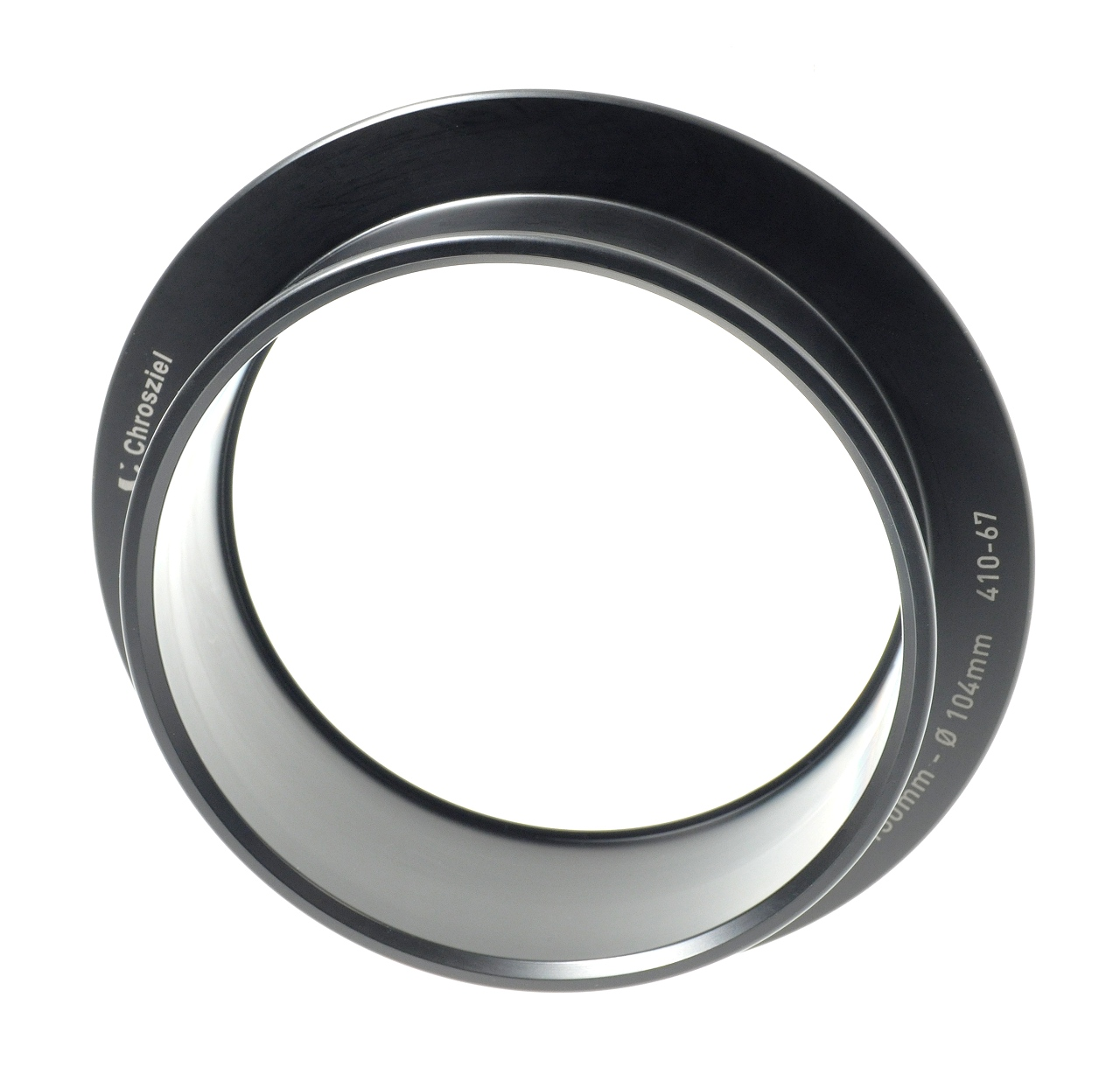 Aufnahmering Ø 130:104mm fix L