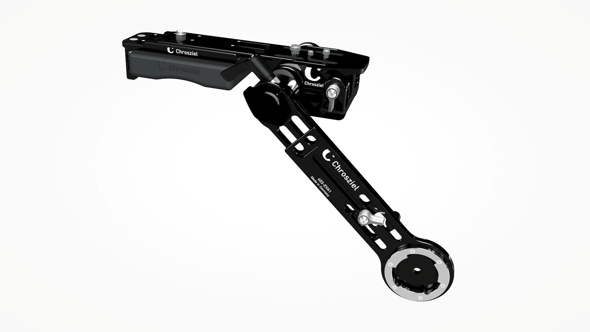 Kit for Pana AU-EVA1: Lightweight Support, Handgrip Extender