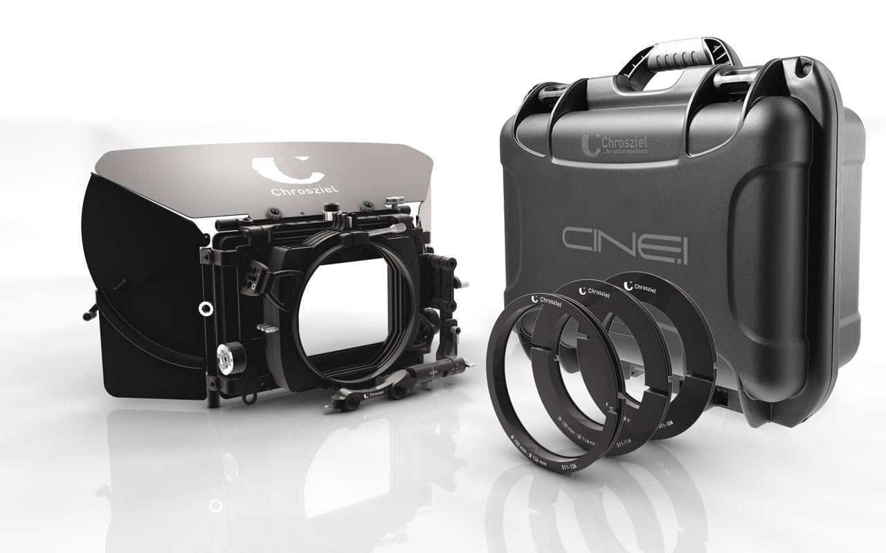 Swing-Away MatteBox Kit MB 565 Triple for 15 mm rods