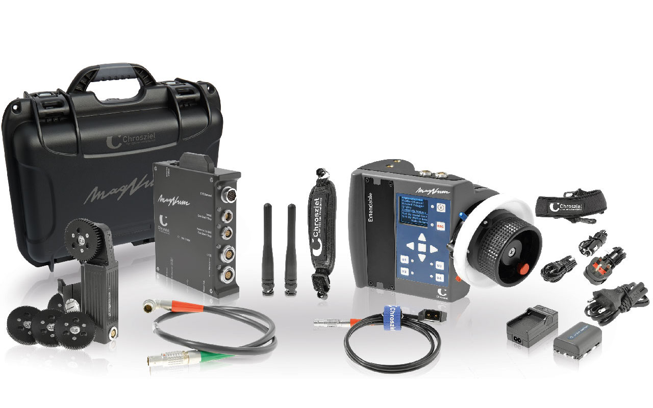 MagNum KIT 1-Channel with Heden motor, extenable