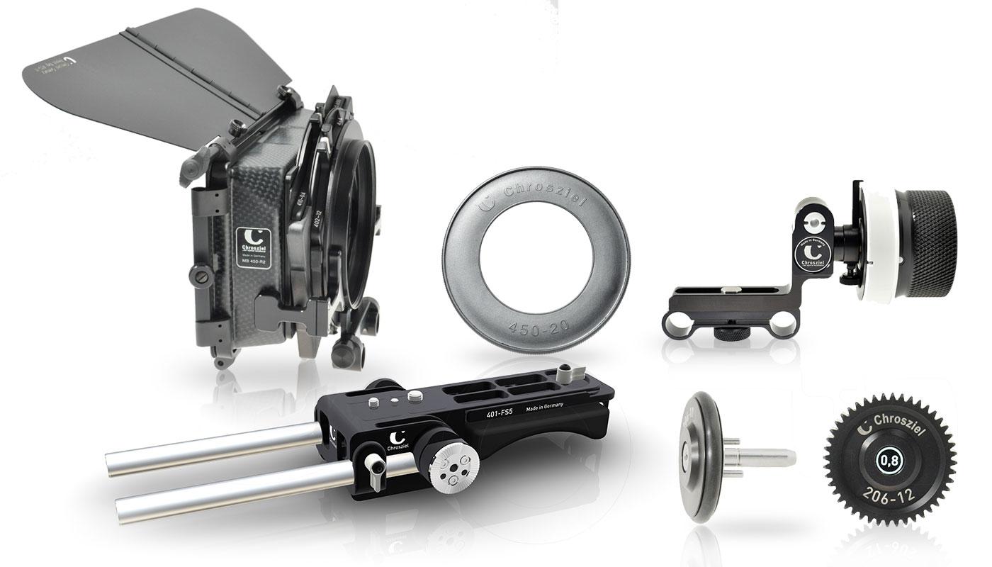 Kit für Sony PXW-FS5: Mattebox 450R2 und FollowFocus 206-05S