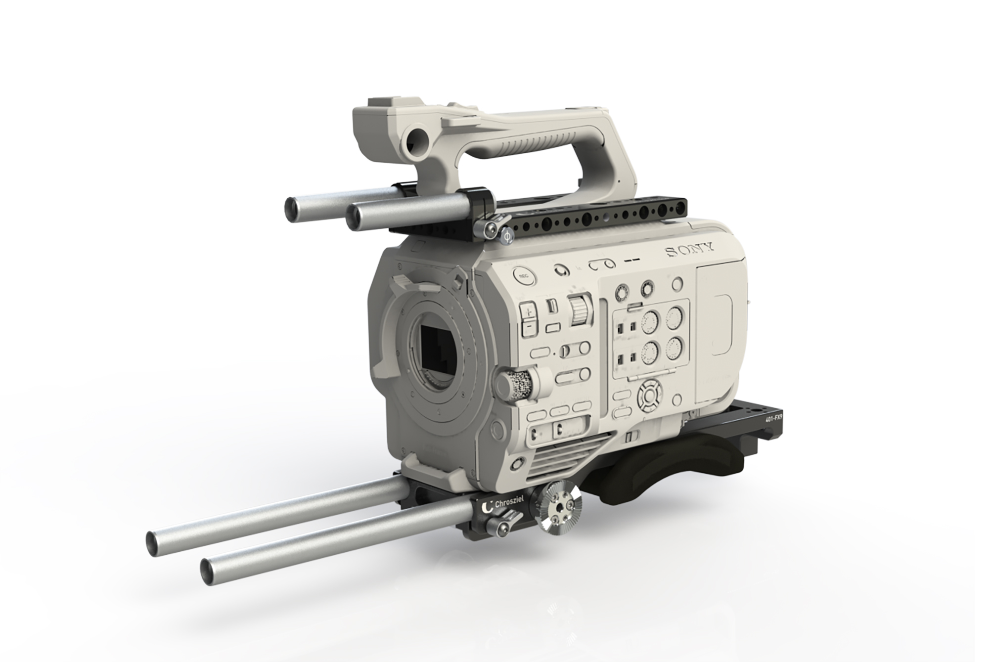 FX9 Kit LWS +Top Plate for Sony PXW-FX9
