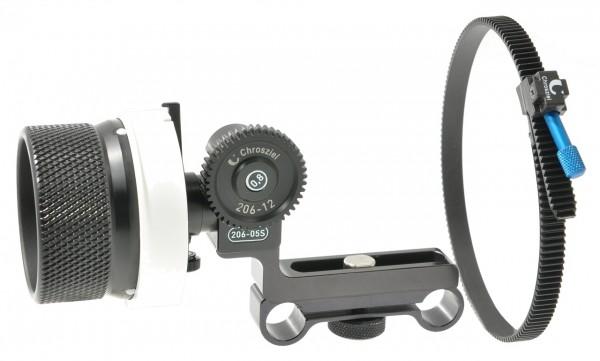 DV StudioRig follow focus with gear drive a. FlexiGearRing